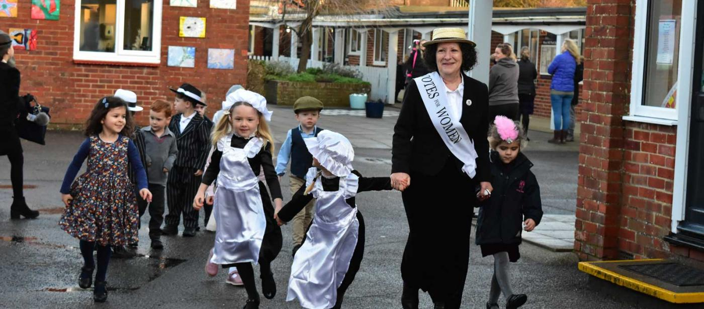 Early Years Celebrate West Hill Park Centenary