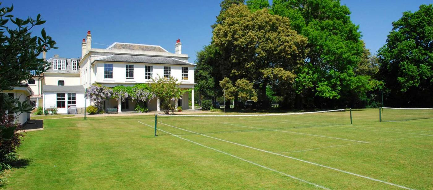 West Hill Park School Grass Tennis Courts
